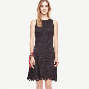 ANN TAYLOR Sleeveless Lace Cocktail Dress LBD